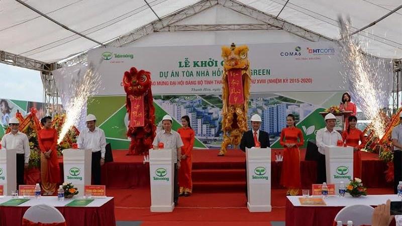 Tiến Nông đầu tư 450 tỷ đồng xây toà nhà hỗn hợp tại TP. Thanh Hoá