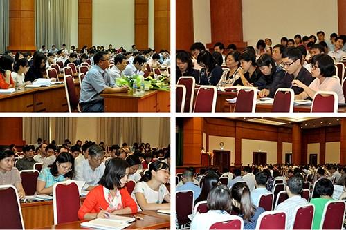 Hội nghị tuyên truyền, phổ biến Luật Ban hành văn bản quy phạm pháp luật