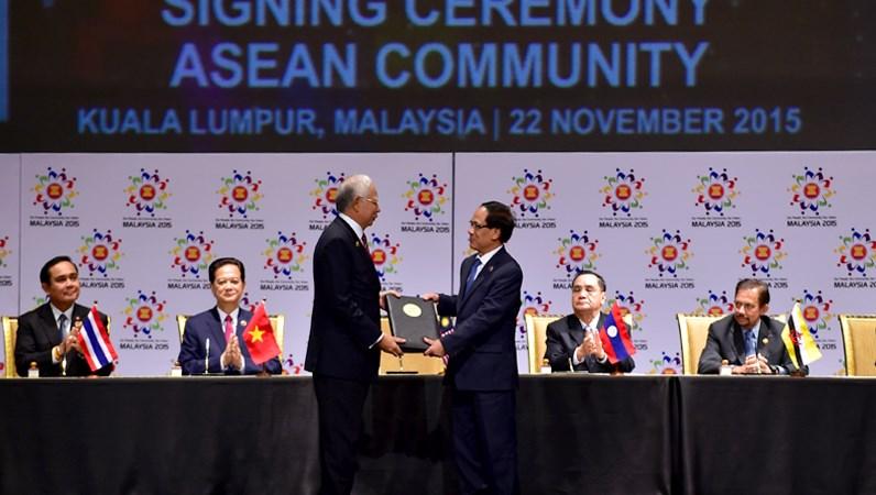 Dấu mốc lịch sử của ASEAN