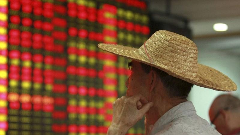 Chứng khoán Trung Quốc phá đáy năm 2015
