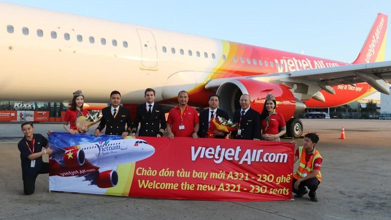 Vietjet đón tàu bay A321