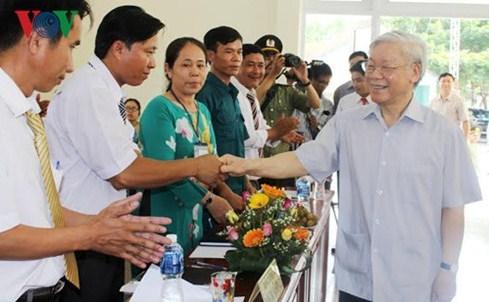 Đảng bộ Phú Yên đã tích cực học tập, quán triệt, triển khai thực hiện Nghị quyết Đại hội XII của Đảng