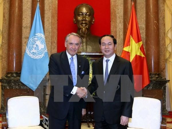 Việt Nam cam kết sẽ luôn tích cực tham gia vào các nỗ lực của Liên Hợp Quốc