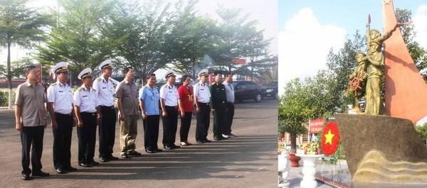 Đoàn công tác Bộ Tài chính thăm và động viên chiến sỹ, nhân dân huyện đảo Trường Sa