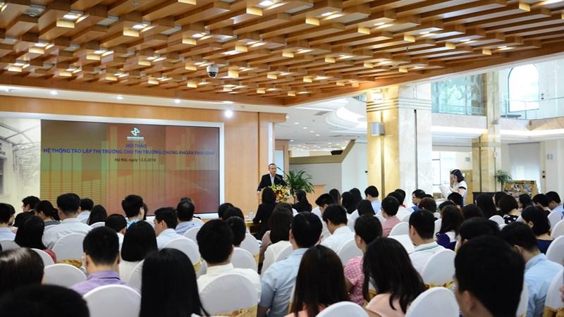 HNX tổ chức Hội thảo hệ thống tạo lập thị trường phái sinh