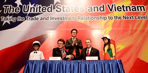 Doanh nghiệp Việt Nam – Hoa Kỳ ký kết hàng loạt hợp đồng lớn