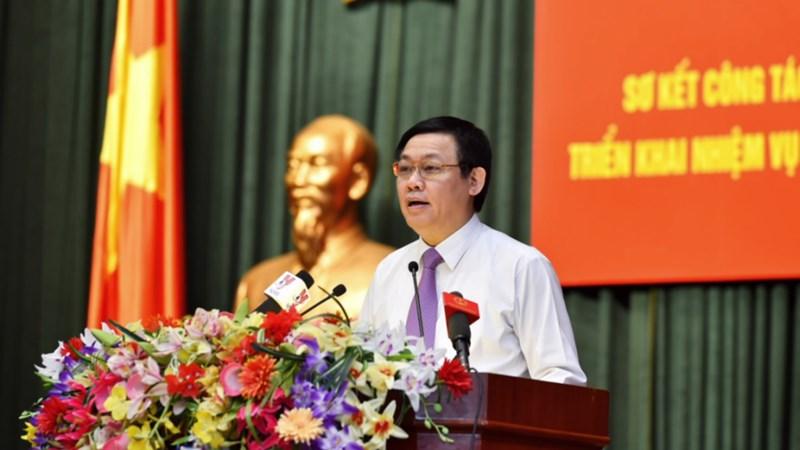 Phó Thủ tướng Vương Đình Huệ định hướng những công tác lớn của ngành Tài chính