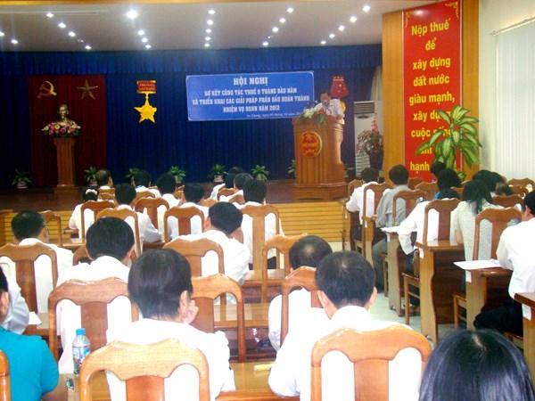 An Giang: Tổ chức 18 hội nghị đối thoại với người nộp thuế