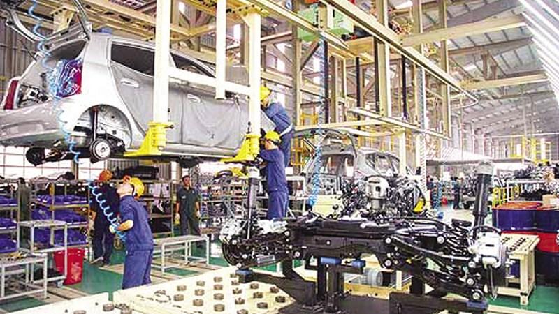 Chỉ số sản xuất công nghiệp tăng 7,2% so với cùng kỳ năm trước