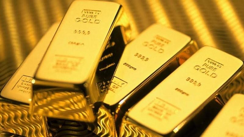 Giá vàng thế giới neo ở mức thấp