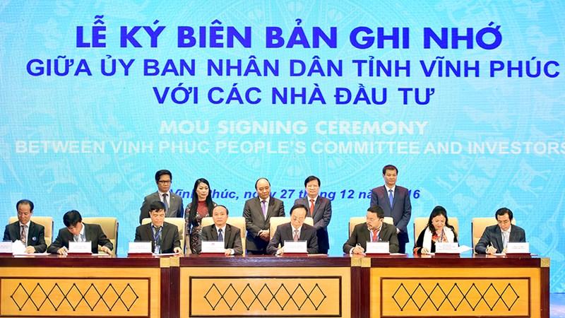 Thủ tướng đánh giá cao tốc độ phát triển nhanh của tỉnh Vĩnh Phúc