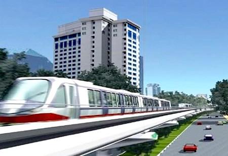 Đầu tư hơn 7.600 tỷ đồng cho dự án đường sắt Nhổn-Ga Hà Nội