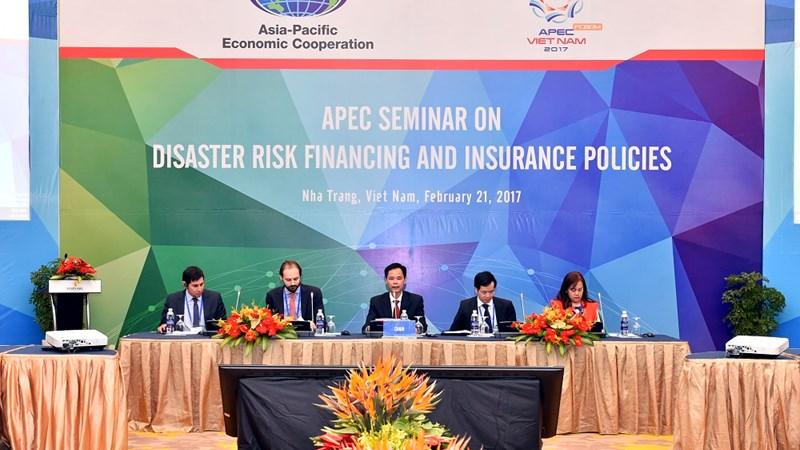 """Hội thảo """"Chính sách tài chính và bảo hiểm ứng phó với rủi ro thiên tai"""""""