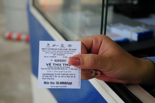 Gỡ vướng thuế GTGT đối với vé cước sử dụng đường bộ