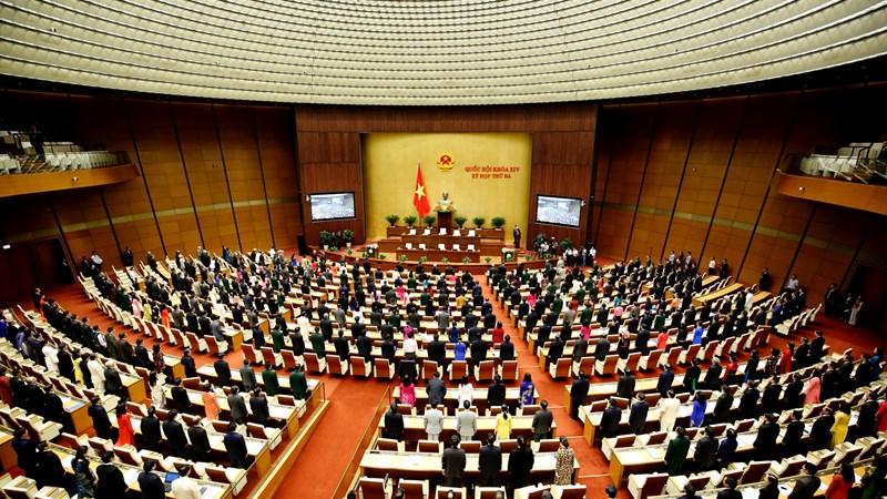 Kỳ họp thứ 3 Quốc hội khóa XIV bàn thảo những nội dung quan trọng