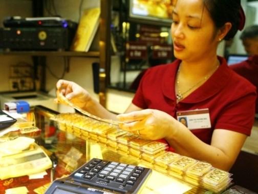 Giá vàng trong nước tiếp đà tăng