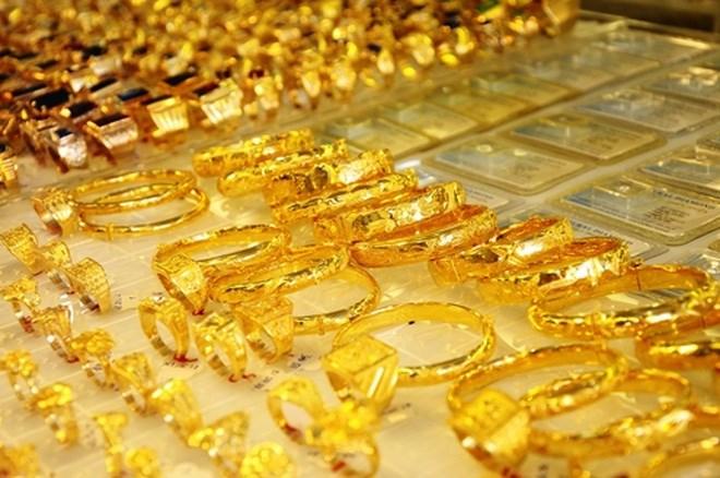 Giá vàng trong nước bật tăng mạnh