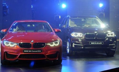 THACO phân phối độc quyền xe BMW tại Việt Nam