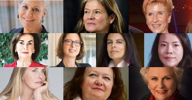 10 nữ tỷ phú giàu nhất thế giới năm 2018