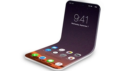 Năm 2020, Apple có thể ra mắt iPhone màn hình gập