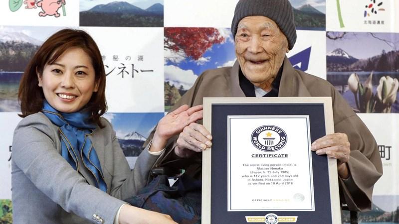 Bí quyết sống lâu của người già nhất thế giới