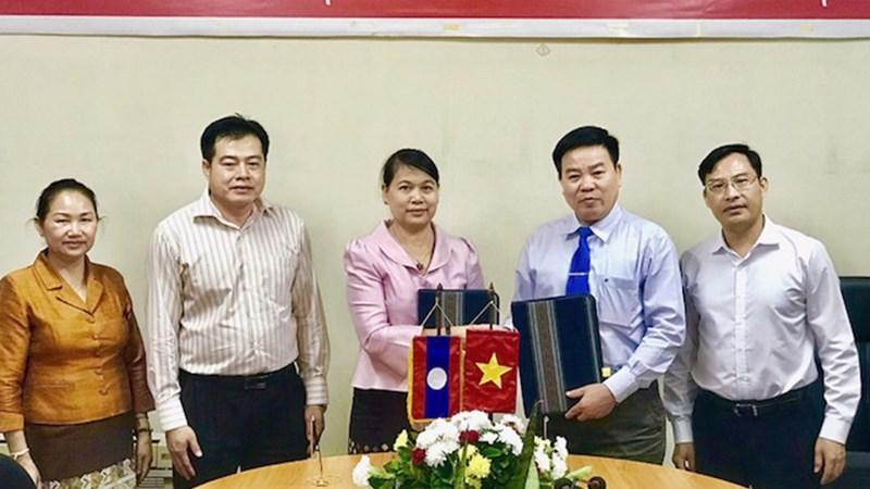 Thắt chặt mối quan hệ hợp tác giữa Việt Nam và Lào trong lĩnh vực Dự trữ Quốc gia