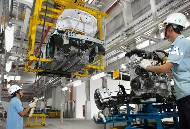 Phấn đấu đến năm 2020 tỉ trọng công nghiệp và xây dựng trong GDP đạt từ 30 - 35%