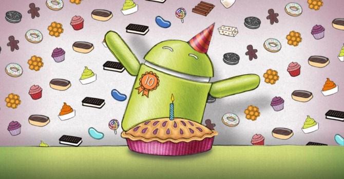 10 năm Android: Từ số không tới xuất sắc