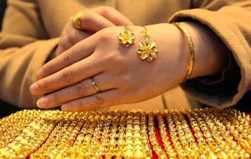 Giá vàng trong nước đồng loạt tăng mạnh