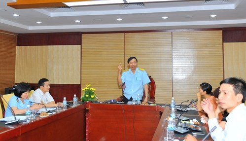 Phó Tổng cục trưởng Tổng cục Hải quan Nguyễn Văn Cẩn: Cần siết chặt đối với hoạt động tạm nhập tái xuất