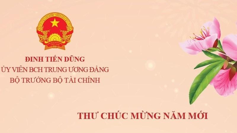 [Infographics] Thư chúc mừng năm mới của Bộ trưởng Bộ Tài chính Đinh Tiến Dũng
