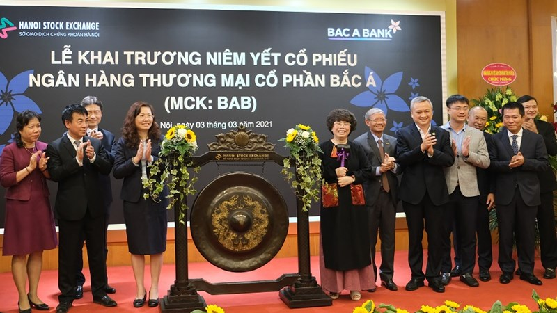 Cổ phiếu Bắc Á Bank chính thức lên sàn