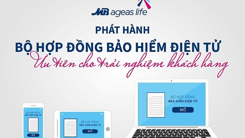 MB Ageas Life ra mắt ứng dụng E-app và E-policy giúp nâng cao trải nghiệm khách hàng