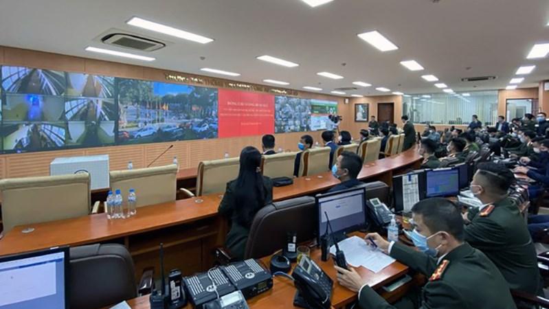 Ứng dụng công nghệ trong phòng, chống dịch, bảo đảm an ninh trật tự