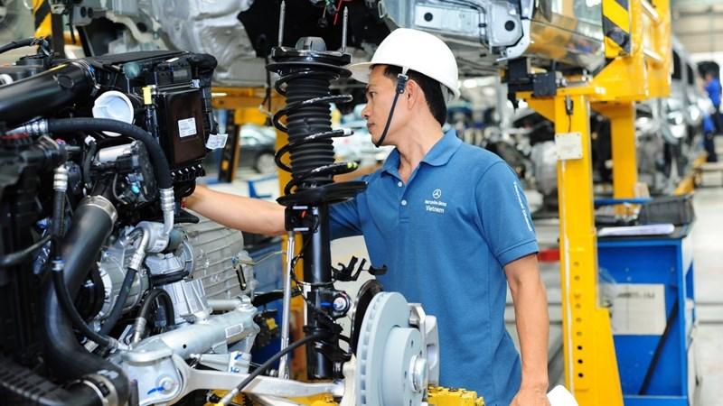 Ngành công nghiệp chế biến, chế tạo tăng 9,5% trong 9 tháng