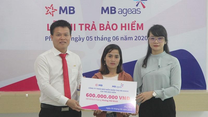 9 tháng đầu năm, MB Ageas Life thực hiện chi trả quyền lợi bảo hiểm trên 53,6 tỷ đồng