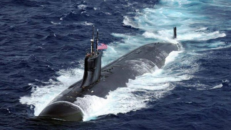 [Infographics] Siêu tàu ngầm của Mỹ  bị hư hại sau khi gặp sự cố trên Biển Đông
