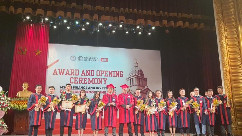 Viện Đào tạo Quốc tế tổ chức Lễ Khai giảng năm học mới và Trao bằng tốt nghiệp cho sinh viên MSc và DDP