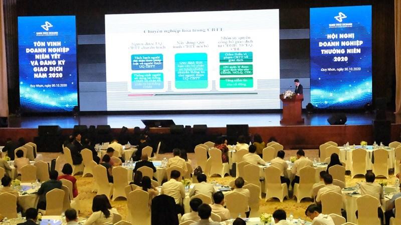 HNX tổ chức thành công Hội nghị doanh nghiệp thường niên năm 2020