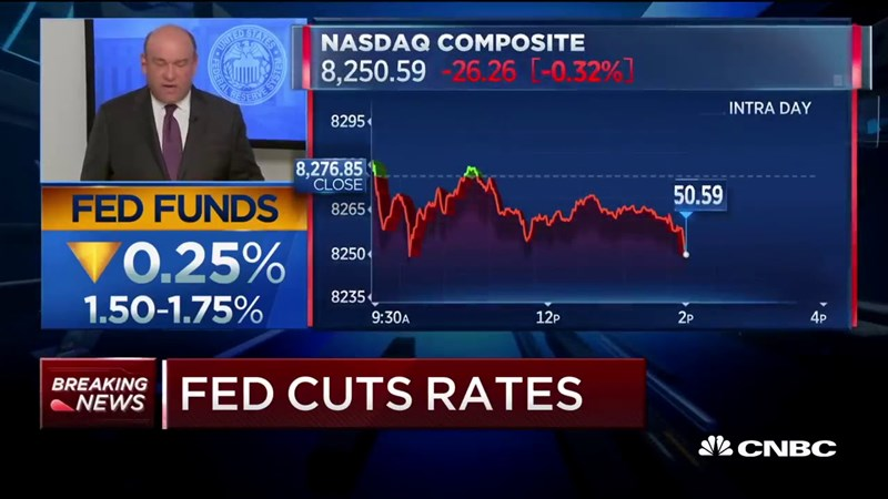Fed toan tính gì khi ngưng giảm lãi suất lần 4?