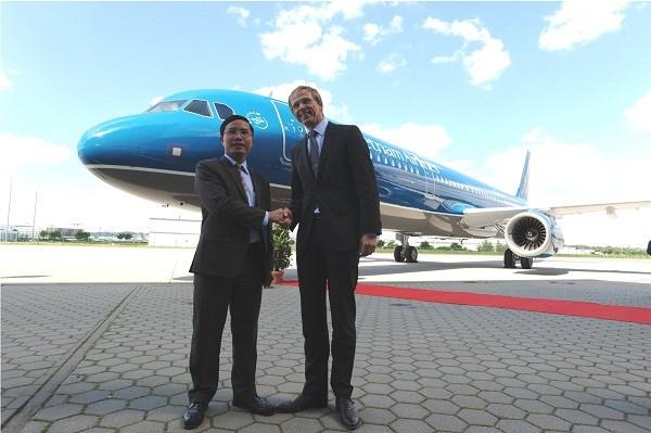 VALC tiếp nhận chiếc tàu bay Airbus A321-200 thứ hai