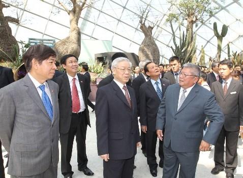 Bước tiến mới trong quan hệ hợp tác tài chính Việt Nam - Singapore