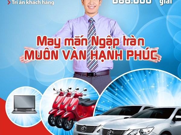 May mắn ngập tràn với khuyến mại tiền gửi tại BIDV và VRB