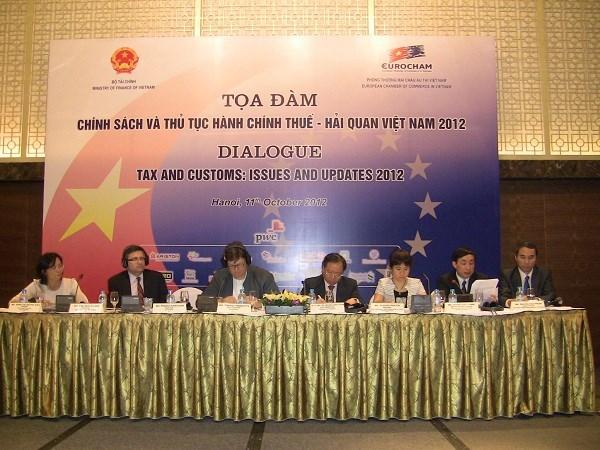 Tọa đàm chính sách và thủ tục hành chính thuế - hải quan Việt Nam năm 2012