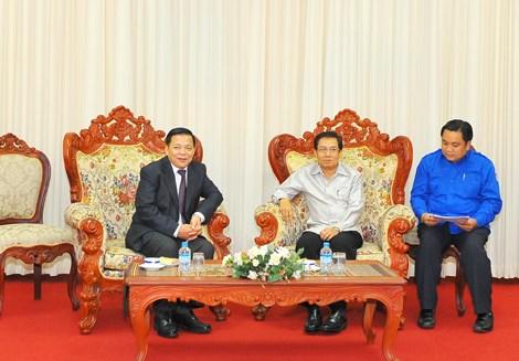 Tăng cường hợp tác giữa Đoàn Thanh niên Bộ Tài chính Việt Nam - Lào