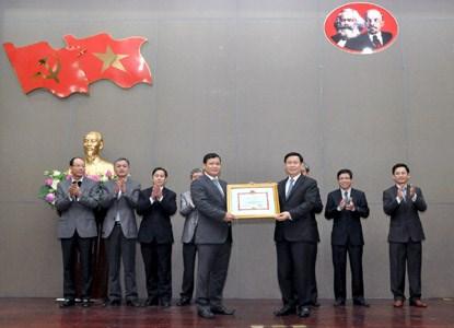 Bộ Tài chính và UBND TP.Hà Nội khen thưởng Cục Thuế Hà Nội
