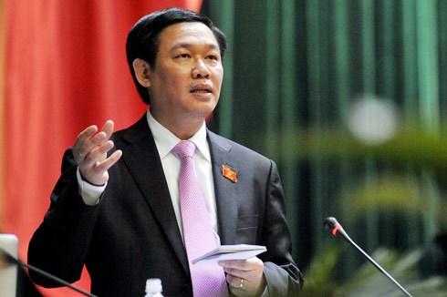 Bộ trưởng Bộ Tài chính Vương Đình Huệ giữ chức Trưởng ban Kinh tế Trung ương