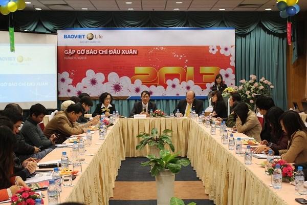 Năm 2012, Bảo Việt Nhân thọ tiếp tục tăng trưởng ấn tượng