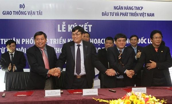 Bộ Giao thông Vận tải và BIDV phối hợp triển khai chương trình mở rộng QL1 đoạn Hà Nội - Cần Thơ