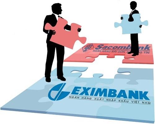 Eximbank, Sacombank lên kế hoạch sáp nhập